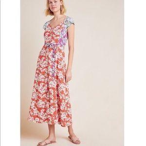 MaEve Tate floral maxi dress